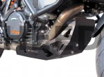 Engine guard for KTM 1190 / 1050 Adventure and KTM 1290 Super Adventure - aluminium black