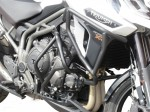 Upper and lower crash bars with Bags for Triumph Tiger Explorer 1200 / 1200 XC (2016 - 2017)