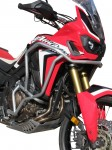 Crash bars with Bags for Honda CRF 1000 Africa Twin - Bunker silver