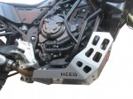 Engine guard for Yamaha Tenere 700 - steel silver