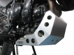 Engine guard for Triumph Tiger 800 - raw aluminium
