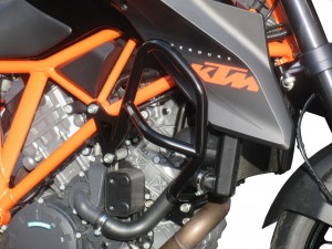 Crash bars for KTM 1290 Super Duke R (2014 - 2016) - black