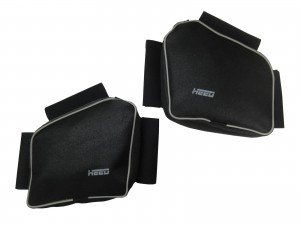 Bags for HEED crash bars for BMW F 650 / F 650 Funduro