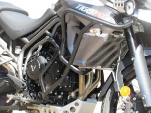 Crash bars with Bags for Triumph Tiger 800 XC / XR (2015 - now)