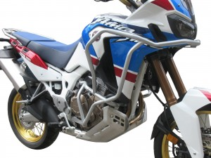 Crash bars with Bags for Honda CRF 1000 Africa Twin Adventure Sports - Bunker silver