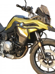 Crash bars with Bags for BMW F 750 GS - BUNKER
