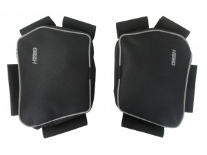 Bags for HEED crash bars for BMW F 850 GS Bunker