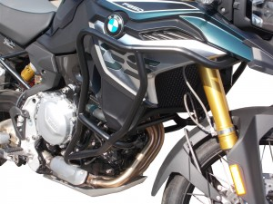 Crash bars with Bags for BMW F 850 GS - BUNKER
