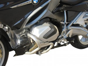 Front crash bars for BMW R 1250 RT - silver