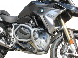 Crash bars for BMW R 1250 GS  - Bunker silver
