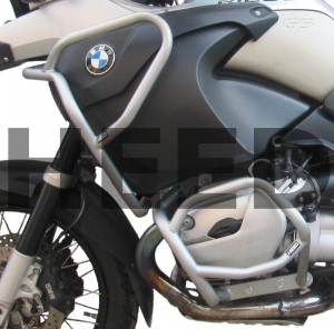 Crash bars for BMW R 1200 GS Adventure (2006-2008) - upper + lower