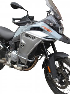 Crash bars for BMW F 850 GS Adventure - Bunker silver