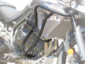 Crash bars for Triumph Tiger 800 XC / XR (2015 - 2019) - Bunker + Bags