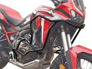 Crash bars for Honda CRF 1100 Africa Twin DCT - Bunker black + Bags