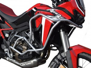 Crash bars for Honda CRF 1100 Africa Twin DCT - Bunker silver + Bags