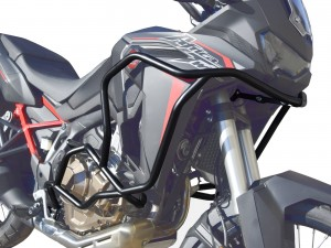 Crash bars for Honda CRF 1100 Africa Twin - Bunker black + Bags