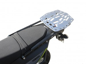 Aluminium luggage plate + rack  for Yamaha Tenere 700 - small