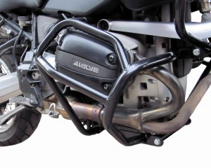 Crash bars for BMW R 1100 GS (1995-1999) and BMW R 850 GS (1996-2001) - Bunker black