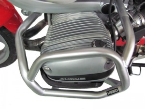 Crash bars for BMW R 1100 GS (1995-1999) and BMW R 850 GS (1996-2001) - Bunker silver
