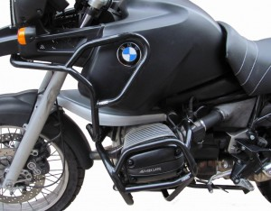 Full bunker crash bars for BMW R 1100 GS (1995-1999) - black