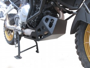 Engine guard for BMW F 750 GS / F 850 GS  - aluminium black