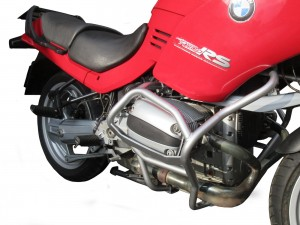 Crash bars for BMW R 1100 RS (1996-2001) - silver