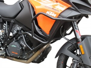 Crash bars for KTM 1290 Super Adventure S (2017 - now) - black