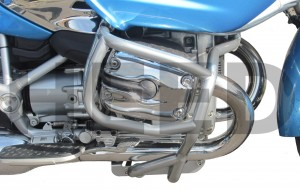 Front crash bars for BMW R 1200 CL (2002-2006) - silver
