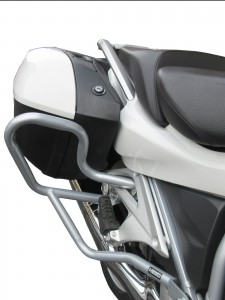 Rear crash bars for BMW R 1200 RT LC (2014 - 2018 ) - silver