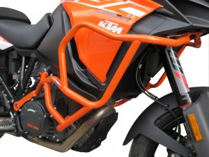 Crash bars for KTM 1290 Super Adventure S (2017 - now) - orange