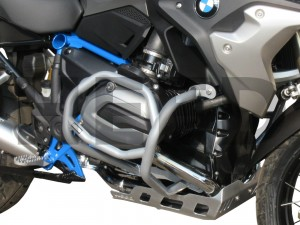 Crash bars for BMW R 1200 GS LC (2013-2018) - Bunker silver