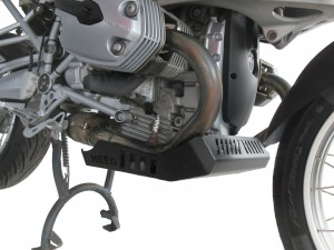 Engine guard for BMW R 1200 GS (2004-2012) - aluminium black