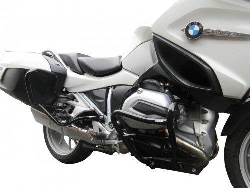 Front And Rear Crash Bars For Bmw R 1200 Rt Lc 2014 2018 Black