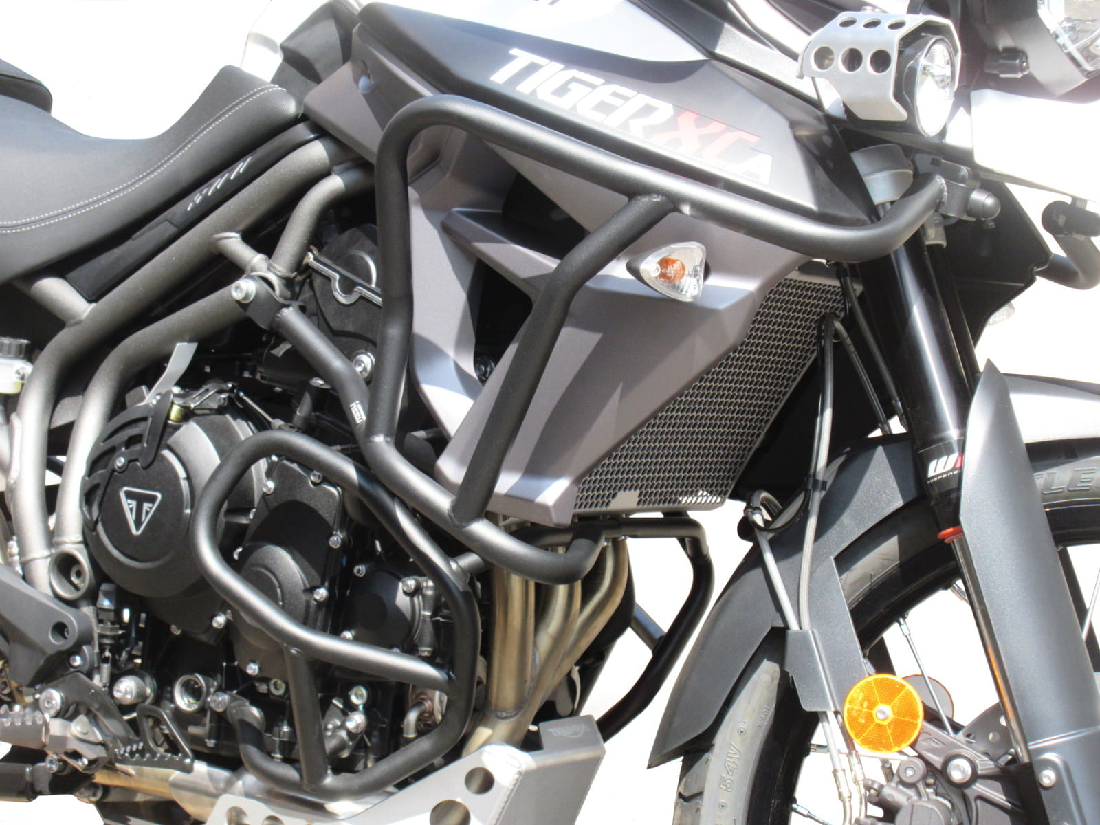 Triumph Tiger 800 >> Upper Crash Bars With Bags For Triumph Tiger 800 Xc Xr 2015 Now