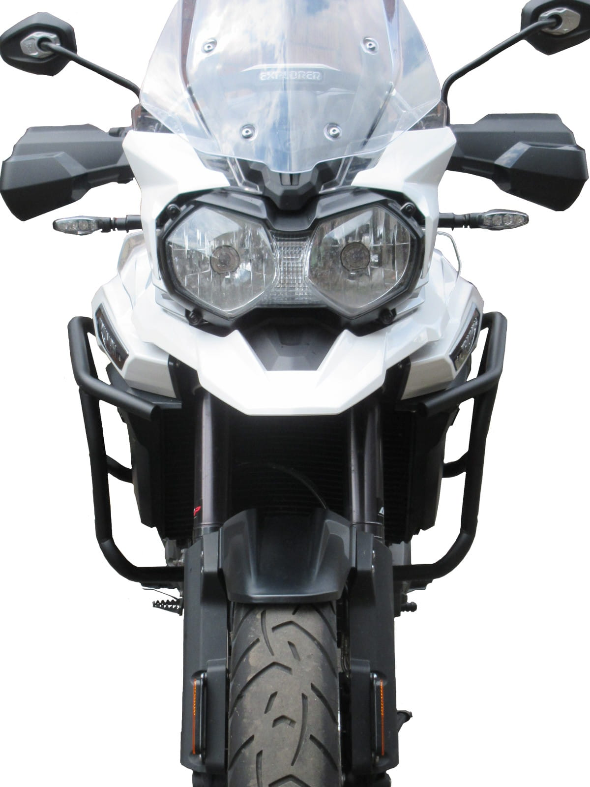 Upper 2016-2017 HEED crash bars Tiger Explorer 1200//1200 XC